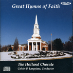 Holland Chorale - 'Great Hymns of the Faith'